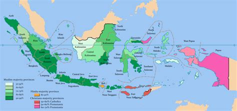 map     ethnic groups  indonesia