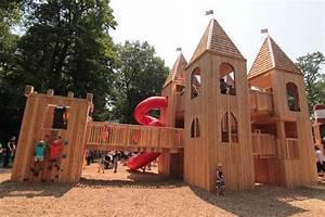 Jamie Bell Adventure Playground Castle  High Park