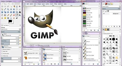 gimp una alternativa gratuita  photoshop
