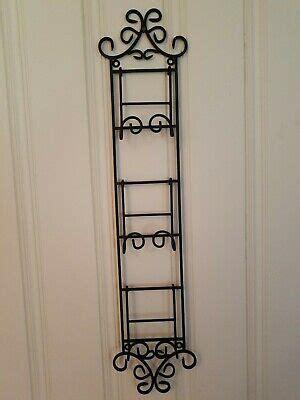 wrought iron   black wall  decorative plate holder      ebay