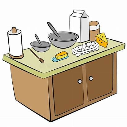 Ingredients Cooking Tools Cartoon Metal