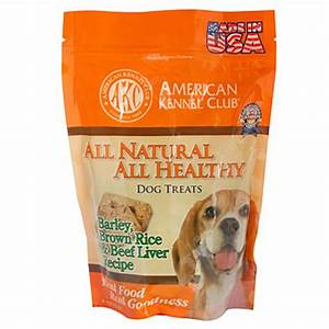 American kennel clubtm all natural all healthy dog treats for Akc dog food