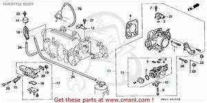 Honda Civic 1995  S  4dr Lx  Ka  Throttle Body
