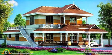 2547 Sqft Beautiful Kerala House  Kerala Home Design And
