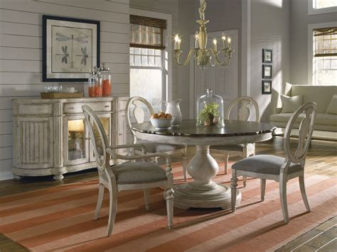 small rectangle table belmar antique linen dining room set from
