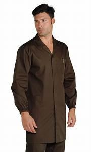 Blouse De Travail Homme : blouse couleur chocolat homme ~ Edinachiropracticcenter.com Idées de Décoration