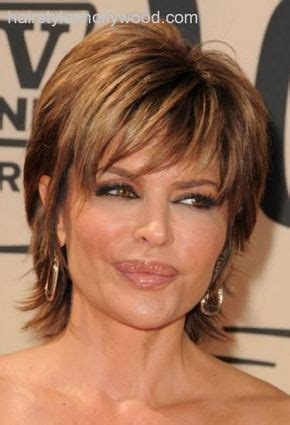 lisa rinna images  pinterest short films hair