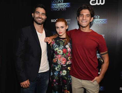 holland roden and tyler posey dating tyler posey and holland roden photos zimbio