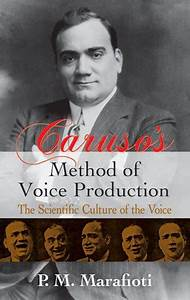 Caruso U0026 39 S Method Of Voice Production  The Scientific