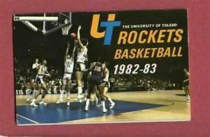 1982 83 University Of Toledo Rockets Basketball Pocket ...
