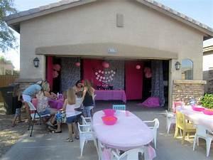Garage Patry : glam party set up in the front garage parties pinterest garage party birthdays and ~ Gottalentnigeria.com Avis de Voitures