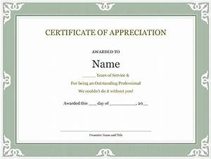 5 printable years of service certificate templates word With certificate for years of service template