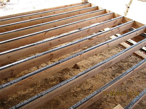 Deck Joist Cover by Homes And Available Energy Efficient Builders