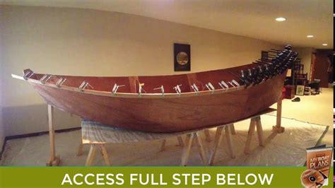 building  wooden drift boat plans  plans  build