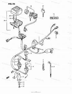 Suzuki Atv 1993 Oem Parts Diagram For Wiring Harness