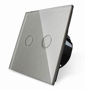 Lichtschalter Touch Glas : livolo smarthome funk lichtschalter glas touch steckdosen grau luxus time ebay ~ Frokenaadalensverden.com Haus und Dekorationen