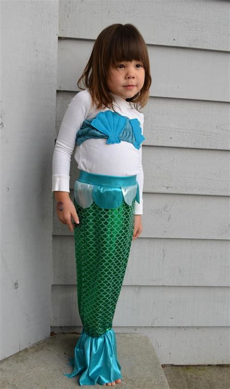 Homemade Mermaid Costume Pattern   AllFreeSewing.com