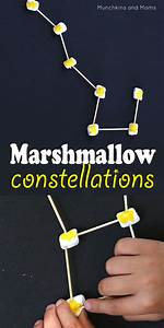 Marshmallow Constellations - Munchkins and Moms