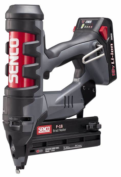 Fascinating Flat Model Knew Sandwiched Brutal Senco 19 Gauge Fn55Ax Fusion Cordless Brad Nailer