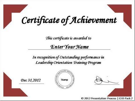 create printable certificates  powerpoint   jiffy