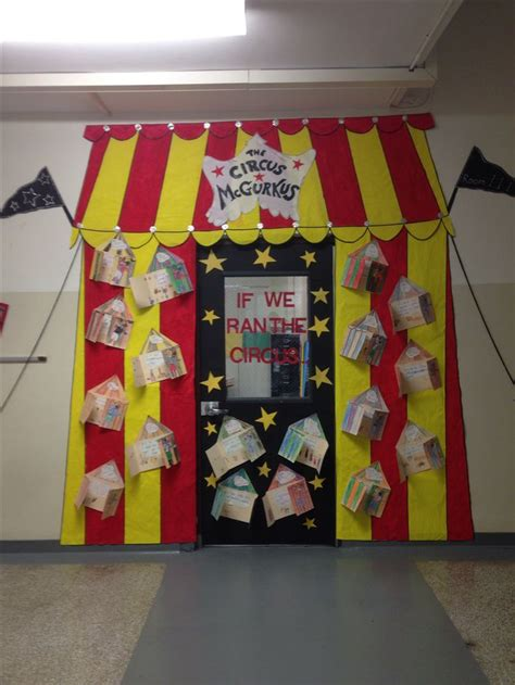 the circus mcgurkus dr seuss door decoration the