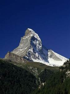 The Matterhorn, a Glacial Horn - National Geographic Society