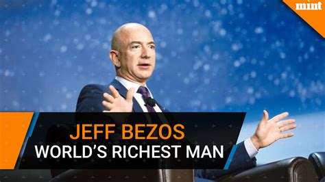 Jeff Bezos becomes the richest man in modern history ...