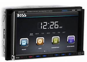 Boss Audio Bv9757b Double Din Car Dvd  Cd  Mp3  Usb  Sd  Aux Player Stereo Bluetooth