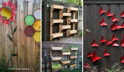 Garden Decoration Fence by Top 23 Surprising Diy Ideas To Decorate Your Garden Fence