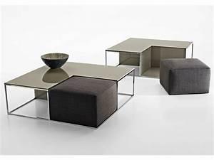 Table Basse Pouf Intégré : pouf table basse area by b b italia design paolo piva ~ Dallasstarsshop.com Idées de Décoration