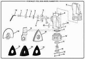 Ryobi P570 Parts List And Diagram   Ereplacementparts Com