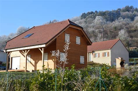 maison ossature bois bardage mlze valle de luouche bourgogne with maison bois bourgogne