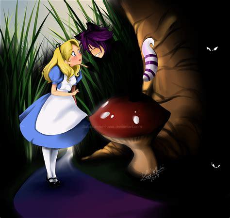 Alice And The Cheshire Cat By Sabaku No Hana On Deviantart