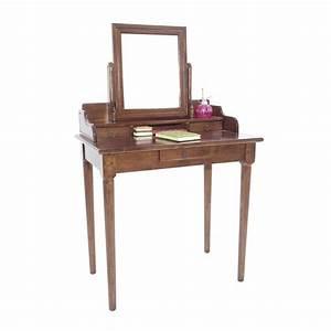 Meuble Coiffeuse But : coiffeuse esprit romantique meuble pour maquillage tradition ~ Teatrodelosmanantiales.com Idées de Décoration