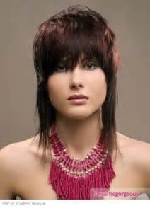 Medium Feather Hair Cut Style