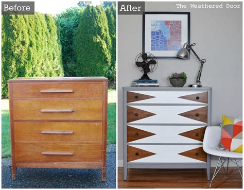 diy furniture before and after