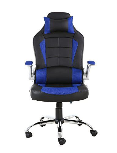 btexpert executive pu leather high back swivel racing