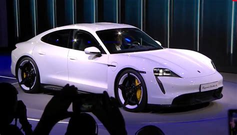 Porsche Taycan Unveiled: Take A Look At Company's First EV