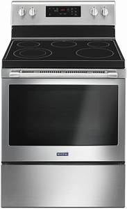 Maytag Mer6600fz 30 Inch Freestanding Electric Range With Precision Cooking  Variable Broil
