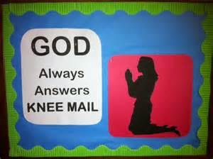 Church Bulletin Board Idea