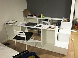 Ikea Hacks Podest : lit ikea diy pour stockage plateforme ~ Watch28wear.com Haus und Dekorationen