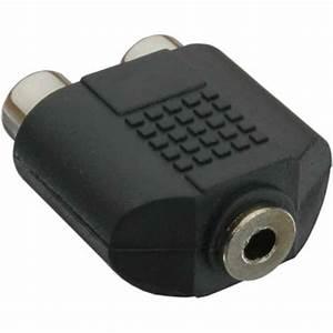 3 5mm Klinke Adapter : audio adapter 3 5mm klinke buchse stereo an 2x cinch ~ Jslefanu.com Haus und Dekorationen