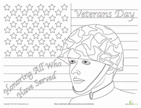 veterans day worksheet education