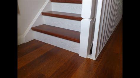 quick step laminate stairs youtube