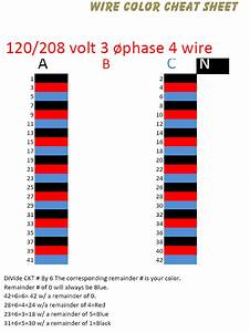 Color Coded Three Phase Wiring Diagram : 3 phase circuit numbering page 2 electrician talk ~ A.2002-acura-tl-radio.info Haus und Dekorationen