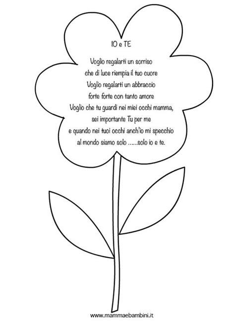 poesia i fiori poesia per la mamma con fiore mamma e bambini