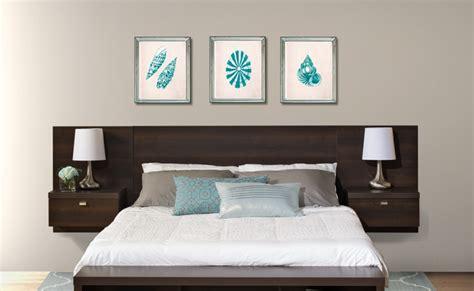 diy modern headboard king headboard wood espresso built in nightstands modern end tables bedroom set ebay