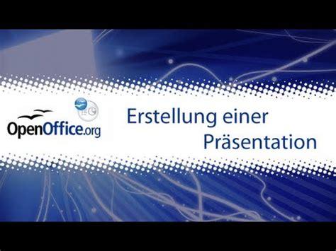 open office impress erstellung einer praesentation
