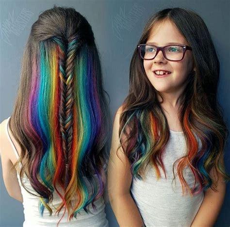 Pin By Christina Bigz On Hair Kids Hair Color Hidden