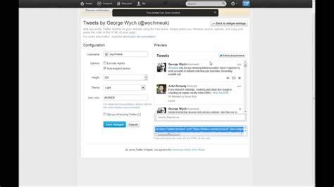 Add Twitter Feed (v1.1 Api) To A Wordpress Site In